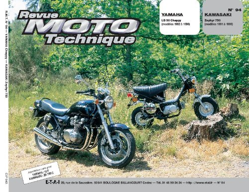 Revue moto technique, n° 94 : Yamaha chappy LB 50/Kawasaki zephyr 750 par Collectif
