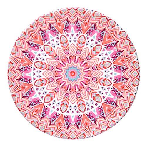 JUNMAONO Nordischen Stil Drucken Serie Rutschfeste Waschbare Untersetzer, Wohnzimmer Küche Hitzebeständige Rutschfeste Lsolierung Tischläufer Für Küche Esszimmer Tischdekoration (Pink)