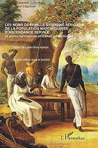 Guillaume Durand - Noms de Famille d'Origine Africaine de la