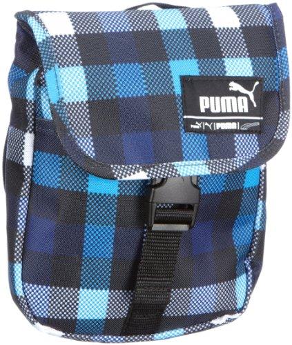Puma Umhängetasche Foundation Karo Portatile, Asterisco Blu Scuro-blu Scuro, 069119 02 Aster-blu Scuro Blu Scuro