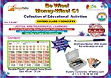#9: Activity Kit for Learning of Class 1 Mathematics - Money. Collection of Educational ActIvities to Learn Money Skills, Currency and Number Operations for Class 1 Kids. Be Wise! Money-wise!
