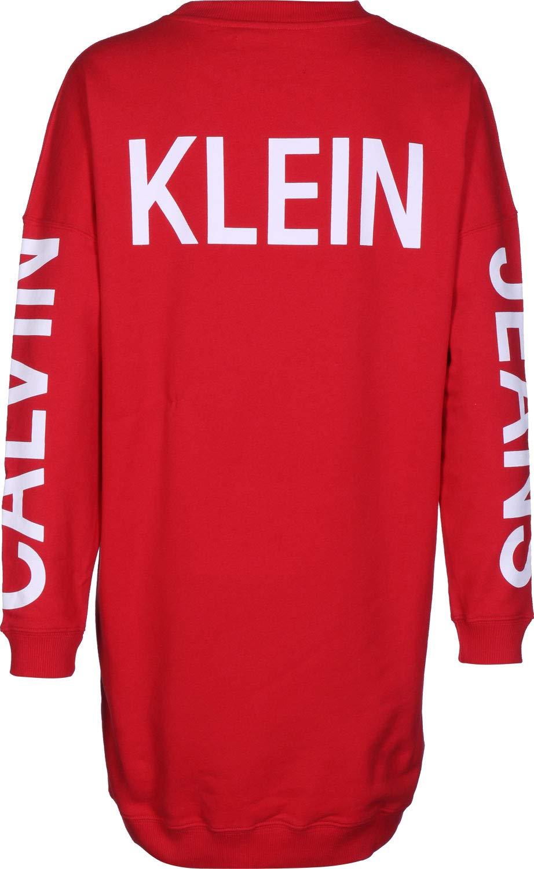 Calvin Klein Vestido Jeans Institutional Mujer
