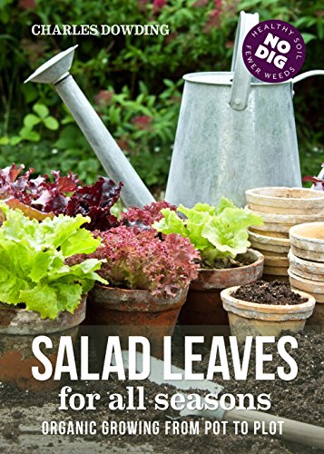 Salad Leaves for All Seasons: Organic Growing from Pot to Plot (English Edition)
