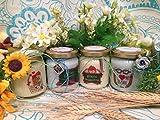 Grazie Maestra 4 vasetti con candele di cera di soia e oli essenziali Ritorno a scuola