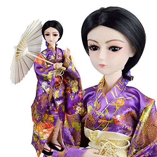 Japanese Girl Ms Cherry Sakura 1/3 BJD SD Doll 60cm 24 inch Kimono jointed dolls + Full Accessory -