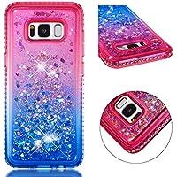 Sycode Galaxy S8 Handyhülle,Galaxy S8 Glitzer Hülle,Kreativ Luxury Gradient Diamant Bling Flüssig Bewegende Treibsand... preisvergleich bei billige-tabletten.eu