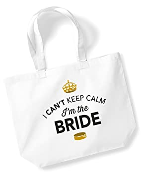 Bride Bag Tote Keepsake Wedding Gift Present Hen Party Do Gifts Ideas For White Amazoncouk