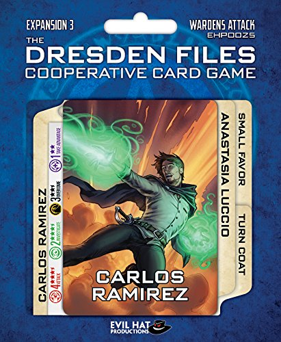 Evil Hat Productions EHP00025 Kartenspiel Dresden Files: Cooperative Expansion 3-Wardens Attack
