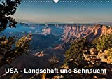 USA - Landschaft und Sehnsucht (Wandkalender 2017 DIN A3 quer): Faszinierende Eindrücke aus dem wunderbaren Südwesten der USA. (Monatskalender, 14 Seiten ) (CALVENDO Orte)