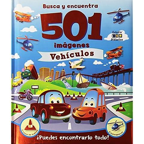 501 imágenes  vehículos (Busca y encuentra)