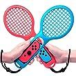 Racchetta da Tennis per Nintendo Switch Jamswall Joy-Con per Mario Tennis Aces Gioco