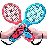 Jamswall Tennis Rackets für Nintendo Swith Tennisschläger für Nintendo Switch Joy-Con Optimal für Somatosensorik-Spiele Mario Tennis Ace