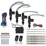 vidaXL Auto Zentralverriegelung 2 Funkfernbedienung Universal 12 V für 2/4 Tür