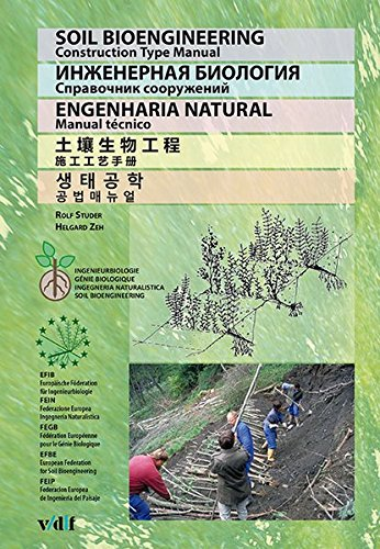 Soil Bioengineering: Construction Type Manual English - Russian - Portuguese - Chinese - Korean