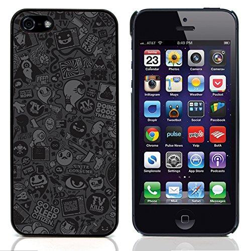 Graphic4You Grün Muster Harte Hülle Case Tasche Schutzhülle für Apple iPhone 5 und 5S Design #15