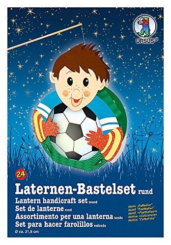 Ursus 18700024 - Laternen Bastelset Fußballer, ca. 21,8 x 31 x 10,3 cm