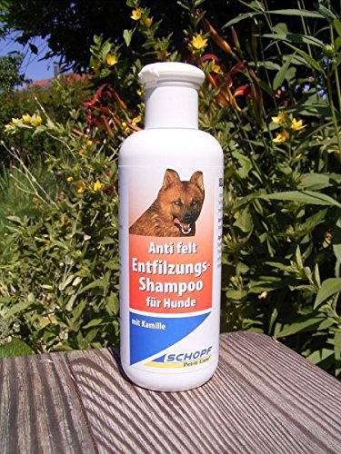 SCHOPF 310069 Entfilzungs Shampoo, 250 ml mit Kamille