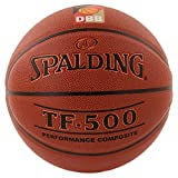 Spalding Basketball Tf500 Dbb Indoor (74-591z), Orange, 7, 3001503010217
