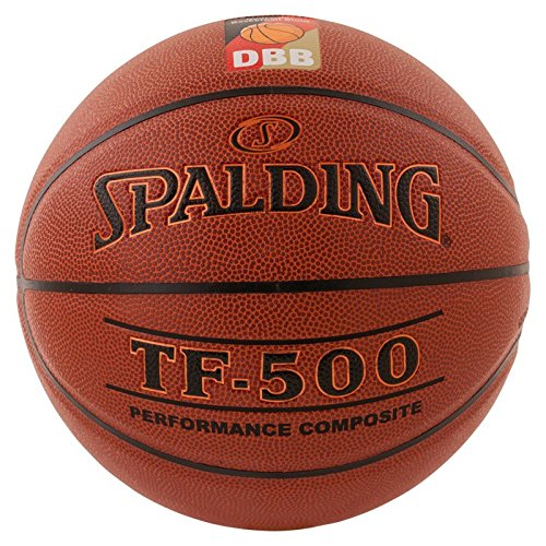 Spalding Basketball TF500 Dbb Indoor (74-591z), Orange, Größe 7