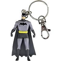 NJ Croce Batman Bendable Keychain NLA, Multi Color (3-inch)