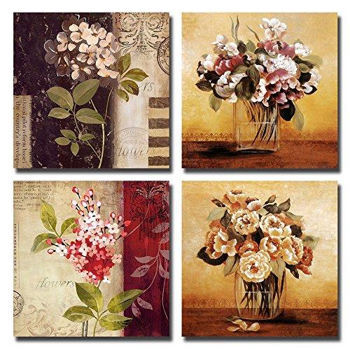 Cuadros de Flores Enmarcados