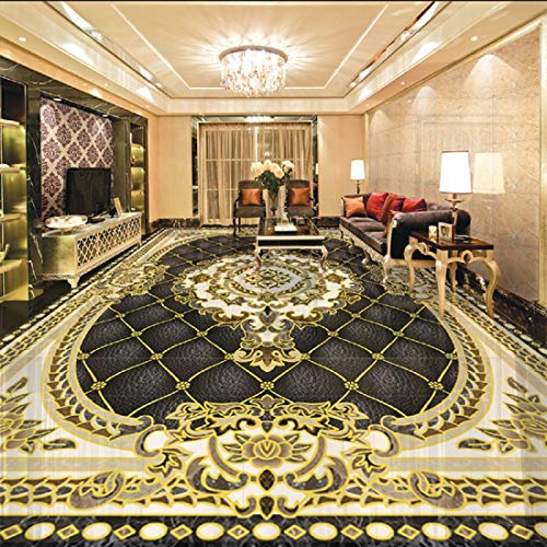 Fototapete 3D Effekt Tapete Europäische Decke europäischen Teppich Mosaik Vliestapete 3D Wallpaper Moderne Wanddeko Wandbilder