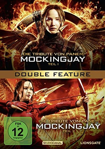 Die Tribute von Panem - Mockingjay Teil 1+2 Double Feature [2 DVDs]