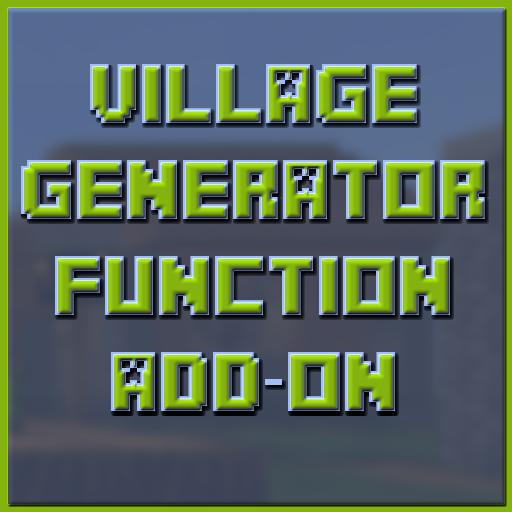 VillageGernerator Function Pack For Minecraft PE: Amazon fr