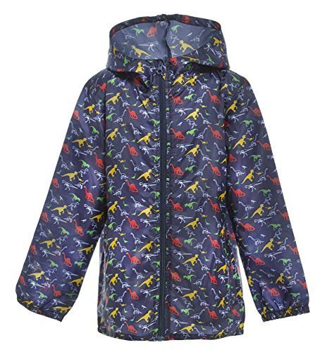 Boys Childrens Fashion Outdoor Raincoat Kagoul Kag Cagoule Showerproof Raincoat Raincoat
