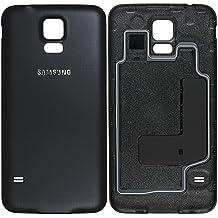 Tapa de batería para Samsung G903F Galaxy S5 NEO, parte trasera, color negro - GH98-37898A