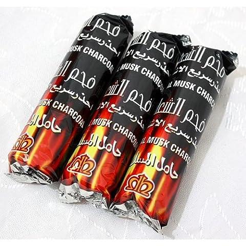 Venta de carbón! 30 tabletas de Carbones Hookah nargila para tazón Shisha fumar
