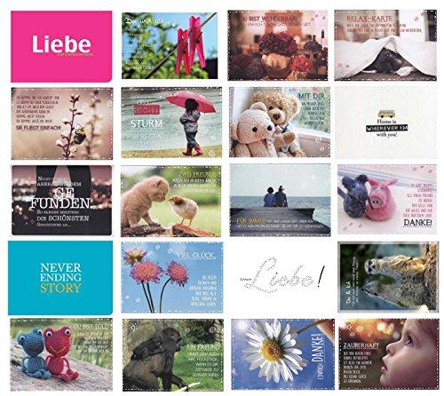 52 Postkarten Hochzeit für Hochzeitsspiel: Das 52 Postkarten Hochzeitsspiel mit Sprüche Postkarten