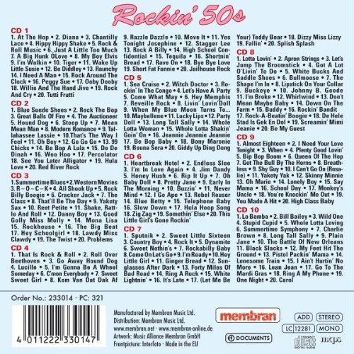 Rockin 50's – 200 Originals from Paul Anka, Chuck Berry, Everly Brothers, amo! - 2