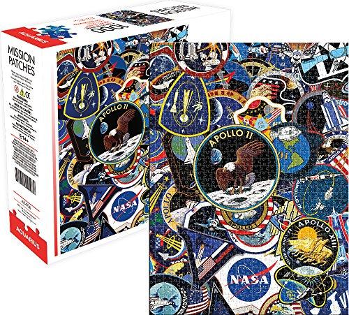Aquarius 62906 NASA Misión Parches Zzcould No Find