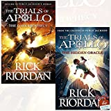 The Trials of Apollo Books (1-2) 2 Books Collection Set By Rick Riordan (The Dark Prophecy [Hardcover], The Hidden Oracle)