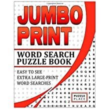 Jumbo Print Word Search Puzzle Book: Easy To See, Extra-Large Print Word Searches