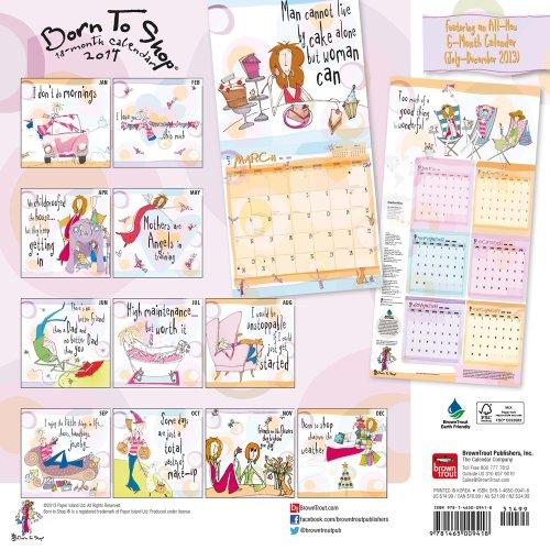 Born to Shop Calendar