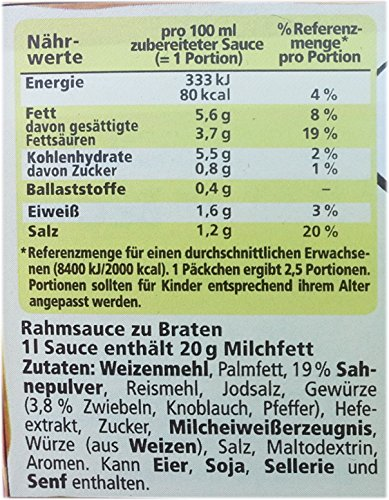 MAGGI Rahm-Sauce zu Braten (2er Pack)