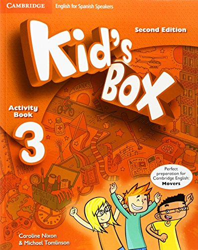 Kid's Box for Spanish Speakers Level 3 Activity Book with CD ROM and My Home Booklet 2nd Edition - 9788490364291 por Caroline Nixon