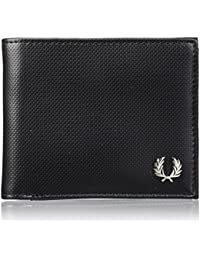 PORTEFEUILLE FRED PERRY HORIZONTAL NOIR L1302-102