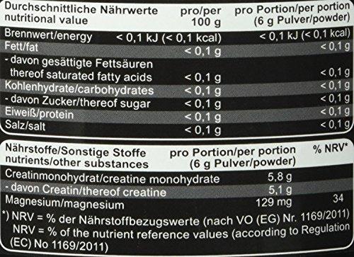 Mammut Creatin Monohydrat, magnesiumoptimiert