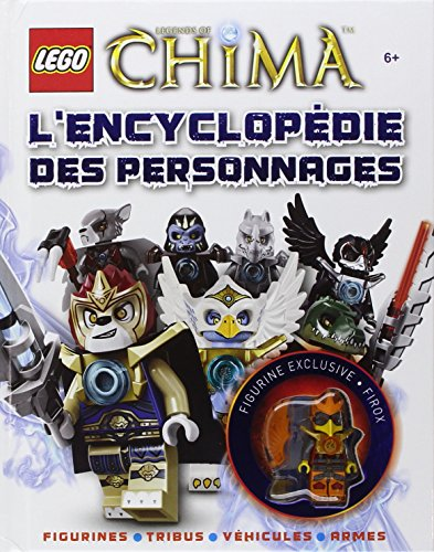 Lego legends of chima l 39 encyclop die des personnages - Personnage lego chima ...