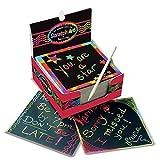 Melissa & Doug Rainbow Mini Scratch Art Notes Box of 125