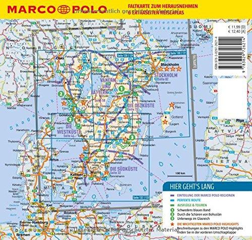 MARCO POLO Reiseführer Südschweden, Stockholm: Reisen mit Insider-Tipps. Mit EXTRA Faltkarte & Reiseatlas: Alle Infos bei Amazon