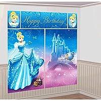 Cenicienta de 5 piezas Set cartel grande de la pared - Feliz Cumpleaños Posters parte