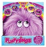 Flufflings 28091.4300 Okki - Mascota de peluche interactiva con sonido y movimiento, color morado [importado de Alemania]