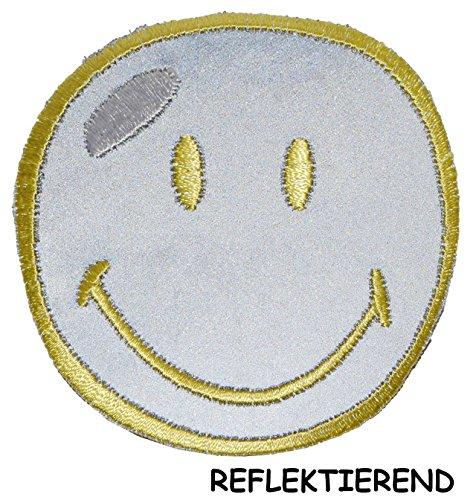 reflex-bugelbild-smiley-reflektierend-7-cm-7-cm-aufnaher-gewebter-flicken-applikation-gesichter-smil