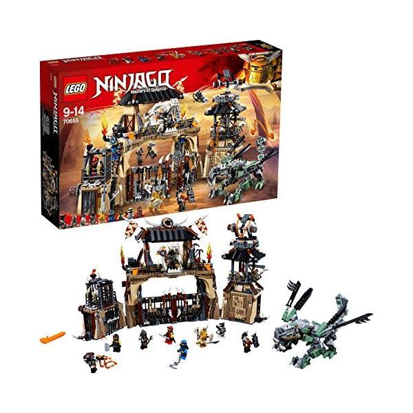 LEGO- Ninjago Includes Master, Jay, Zane, Cole, Kai, Iron Baron, Arkade, Heavy Metal And Chew Toy Minifigures La Fossa… 1 spesavip