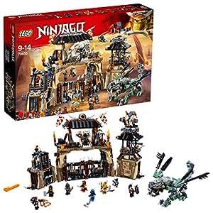 Lego Ninjago - La Tanière du Dragon - 70655 - Jeu de Construction
