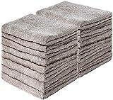 GREEN MARK Textilien 20er Pack Frottier Gästetücher mit Aufhänger 30x50cm GÄSTETUCH GÄSTE-Handtuch Farbe: Sand/Beige